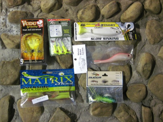 Fishing lures Pack & Paddle