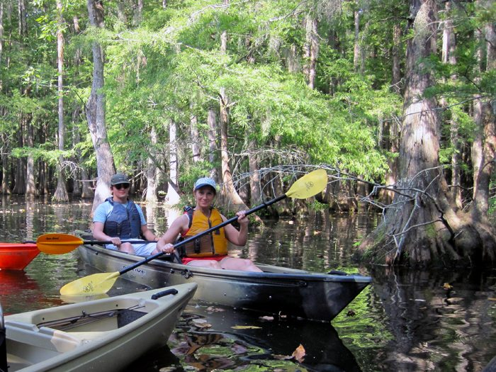 Lake Chicot Paddle Trip Report - August 2014 Pack & Paddle