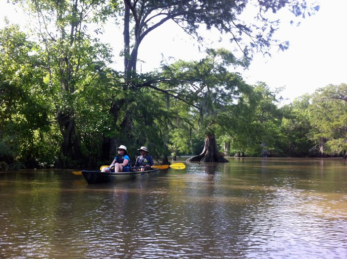 Bayou Grand Gueule Paddle July 2014